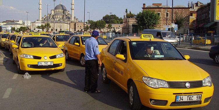 Kết quả hình ảnh cho taxi in instanbul