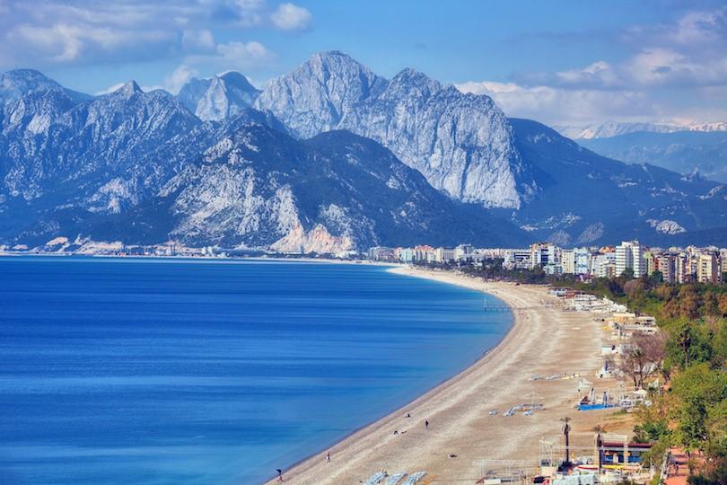 Thành phố nghỉ mát Antalya Thổ Nhĩ Kỳ