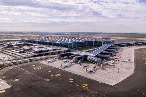 sân bay Istanbul Thổ Nhĩ Kỳ đứng đầu về chuyển đổi số
