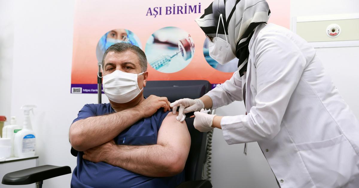 Số lượng vắc-xin Covid-19 đã tiêm Thổ Nhĩ Kỳ